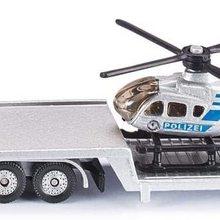 Mit Silber Helikopter Tieflader Ffenbare Heckklappe Abkoppelbarer Aufliege Metall/kunststoff