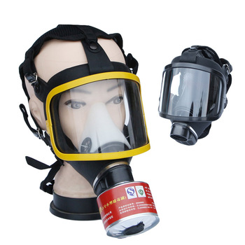Spray Painting Respirator Large Vision Full Face Gas Mask Industry Safety Work Vocational Protection Gas Mask Respirator high quality respirator gas mask modular strengthen protection protective mask painting pesticide industrial safety gasmaske