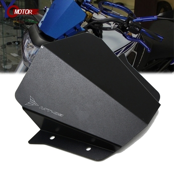 MT09 MT-09 FZ 09 Motorcycle CNC Front Windshield Windscreen Airflow Wind Deflector For Yamaha FZ09 MT 09 FZ-09 2014 2015 2016 недорого