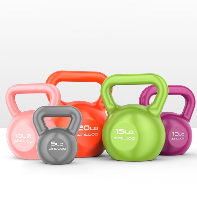 Kettlebell For Fitness Kettlebell Weights Ball Fitness Equipment Dumbbells Exercise Training Tools Fitness Lifting Pot