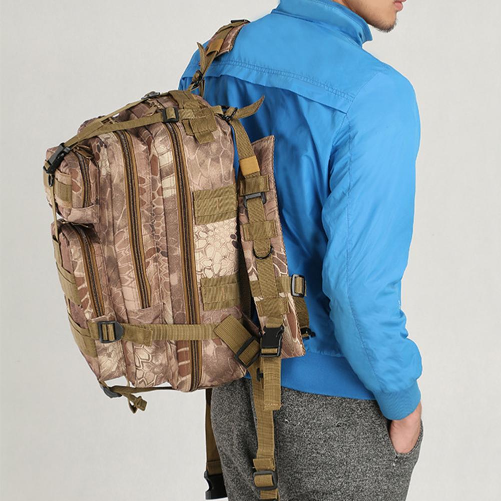 Hot Unisex Camouflage Waterproof Oxford Tactical Outdoor Sports Backpack Waterproof Oxford Tactical Outdoor Sports Backpack