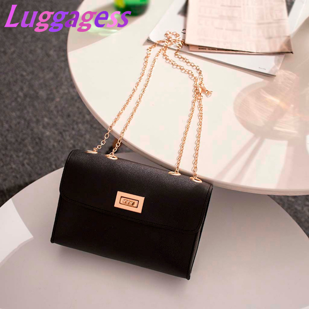 Bags For Women 2019 New Fashion Lady PU Leather Shoulder Bag Small Purse Mobile Phone Messenger Bag Bolso Mujer