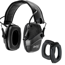 Tactical electronic shooting hunting sports noise reduction pickup headphones + for Howard Leight professional glasses earmuffs powerful noise reduction earmuffs study campaign to help sleep comfortable folding portable professional shooting earmuffs