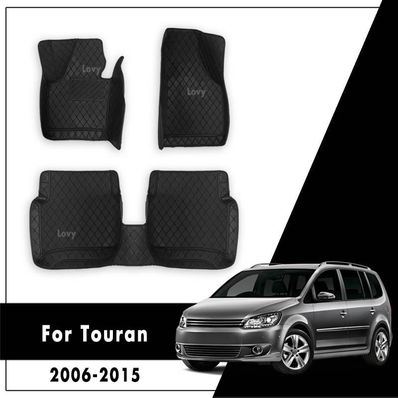 Автомобильные коврики для Touran 2015 2014 2013 2012 2011 2010 2009 2008 2007 2006 авто Интерьер тире ковры для Volkswagen vw touran