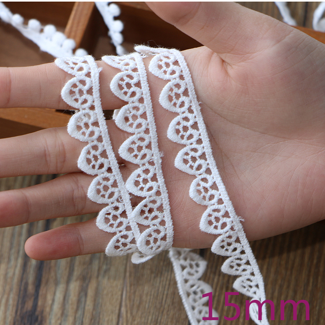 Embroidery Lace Fabrics Curtains 4