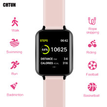 CHTUN B57 Smart watches Waterproof Sports for phone Smartwatch Heart Rate Monitor Blood Pressure Functions For Women men kid(China)