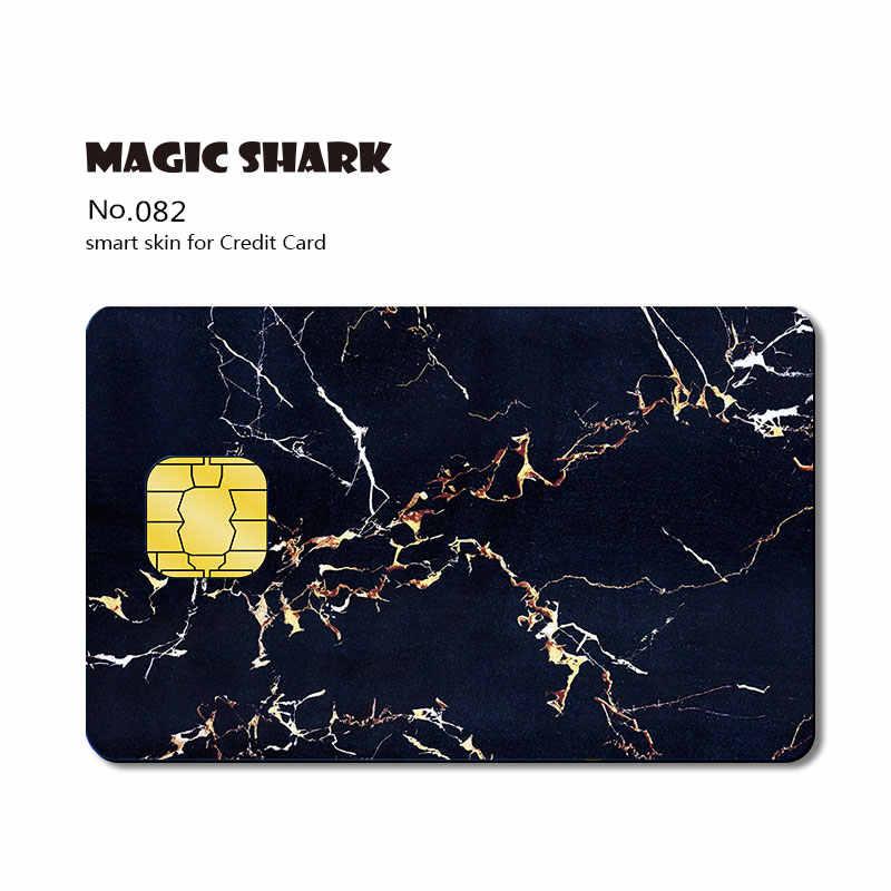 Magic Cá Mập Cờ Nọc Độc Gỗ In Núi Super Man Thời Trang Nhựa PVC Thẻ Tín Dụng Không Phai Màu Da Miếng Dán Phim