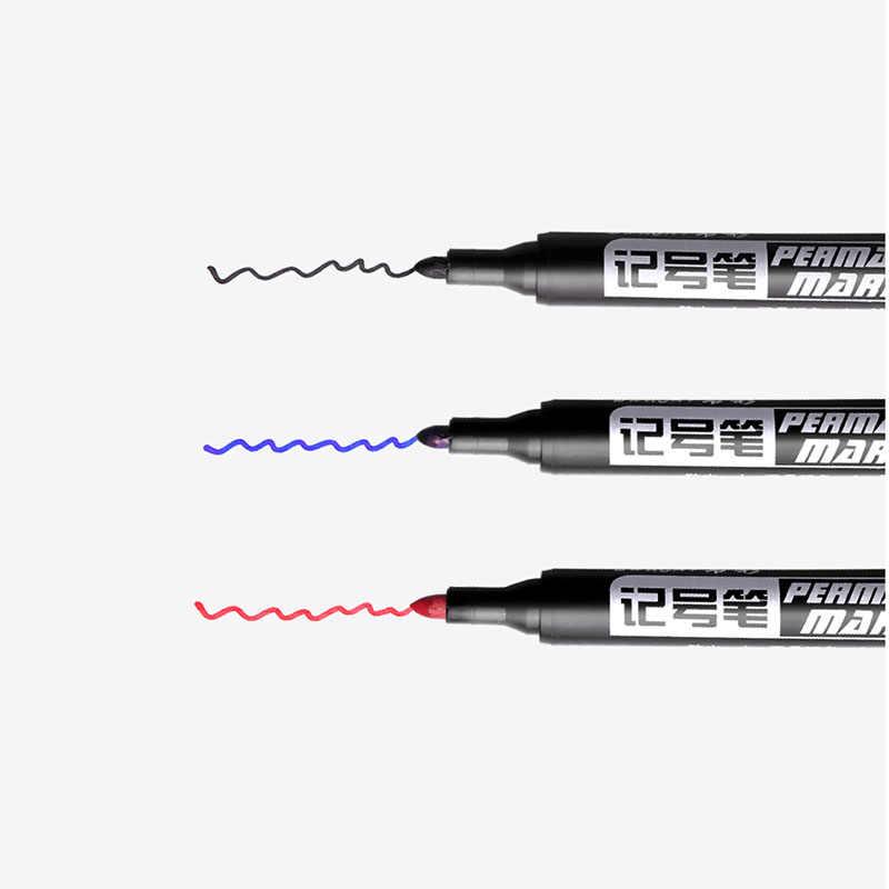 1 PC พลาสติกเจล Highlighter ปากกาเข็ม MARKER Office โรงเรียนเด็กดินสอเครื่องเขียน