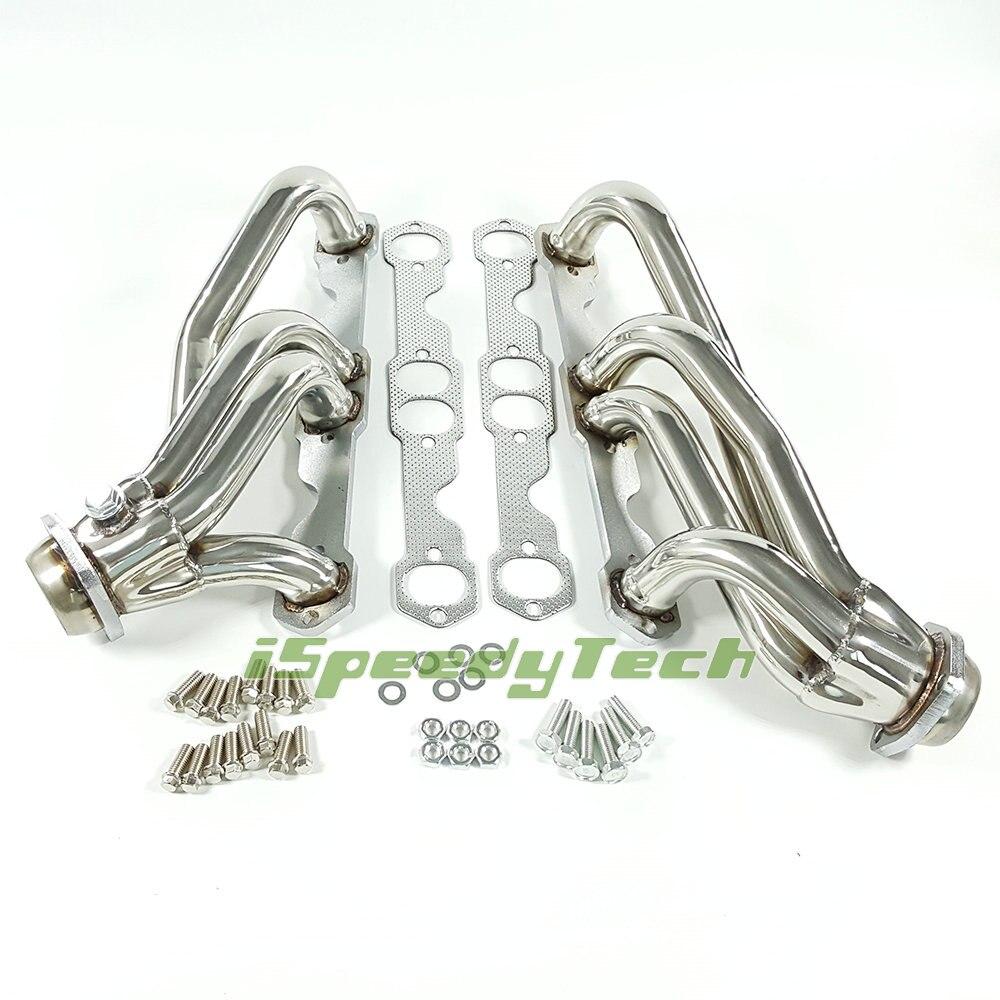 speedracingturbo EXHAUST HEADER 88-97 CHEVY GMC TRUCK SMALL BLOCK 307//327//305//350//400 STAINLES