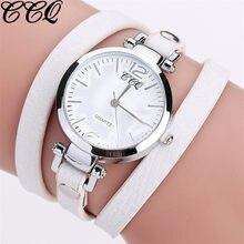 Montre-bracelet en cuir à Quartz pour femmes, marque de luxe, à la mode, horloge, Orologio Donna Ceasuri, 2020