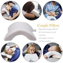 Health Memory Foam Couple Bedding Pillow Neck Protection X Zero Pressure Slow Rebound Butterfly Shaped