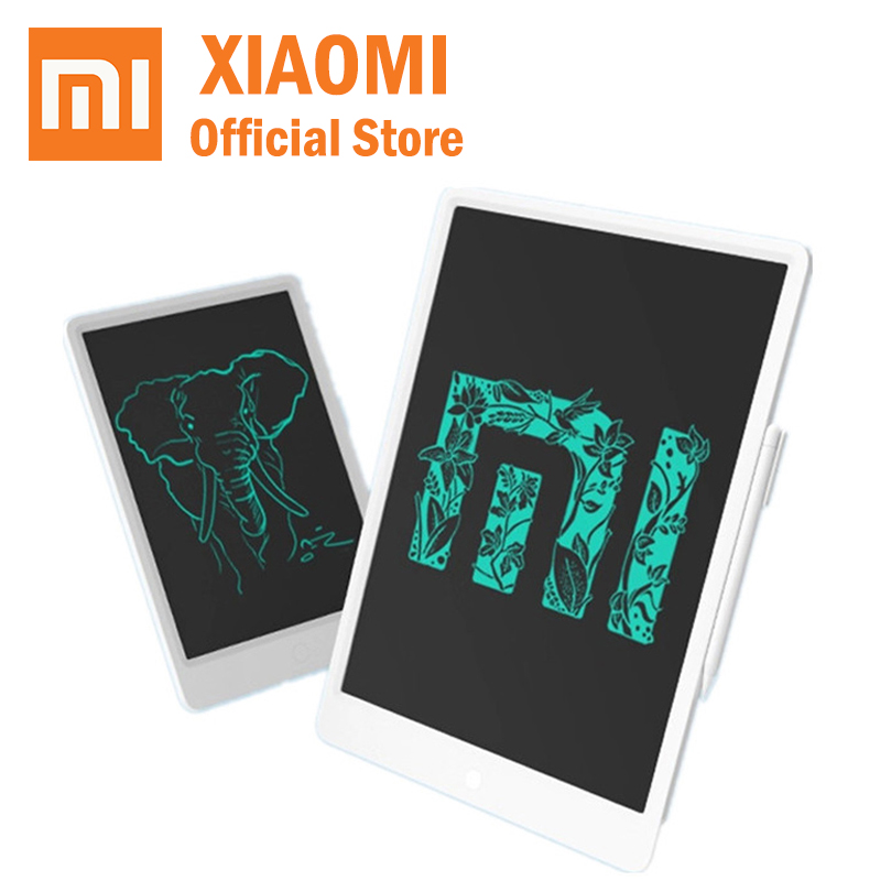 2019 Original Xiaomi Mijia LCD Writing Tablet Board Electronic Small Blackboard Paperless Handwriting Pad Graphics Board Baby