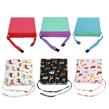 Children Increased Chair Pad Baby Dining Kids Cushion Adjustable Removable Chair Booster Sponge Leather Cushion  Pram Chair Pad pudcoco baby booster seats children booster chair cover pad baby kids dining seat soft leather cushion pad