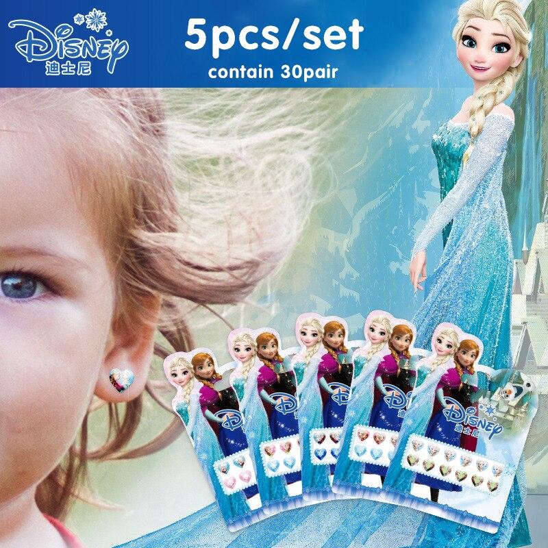 Disney Stiker Mainan Stereo Anting Anting Mainan Stiker Beku Elsa Dan Anna Sophia Putri Kuda Poni Kecil Disney Princess Stiker Hadiah Mainan Stiker Aliexpress
