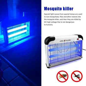 20W LED Mosquito Killer Indoor Bug Zapper Mosquito Trap Lamp Light LED Electronic Fly Insect Killer Pest Control Lamp