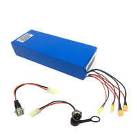 60V 18 46AH Electric Scooter Battery with double charging ports 67.2v Lithium Battery Pack hoverboard kick scooter Battery