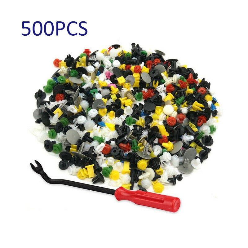 500x rebites de expansão plástica para buick Ford BMW honda toyota mazda clipes de prendedor amortecedor do carro fender porta painel parafuso 5mm 6mm 7mm 8mm 9mm