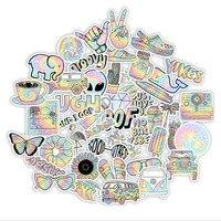 10/30/50 Teile/satz Gradienten Graffiti Wasserdicht Skateboard Reise Koffer Telefon Laptop Gepäck Aufkleber Nette Kinder Mädchen Spielzeug