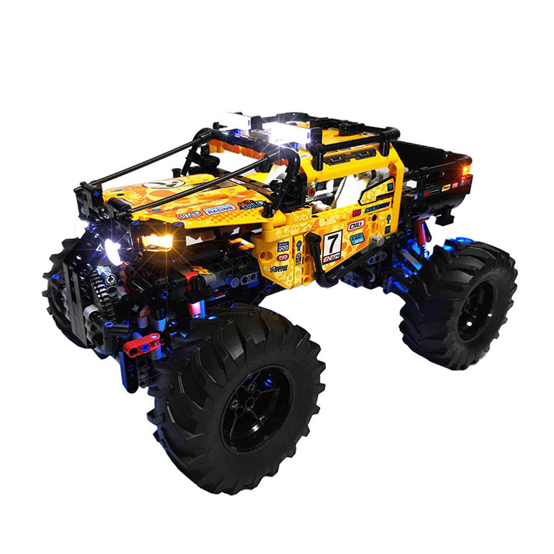 Batteria al litio Alimentato Kit di Illuminazione A LED per 4x4 X-treme Off-Roader 42099 (LED Incluso solo, no Kit)- RC Versione