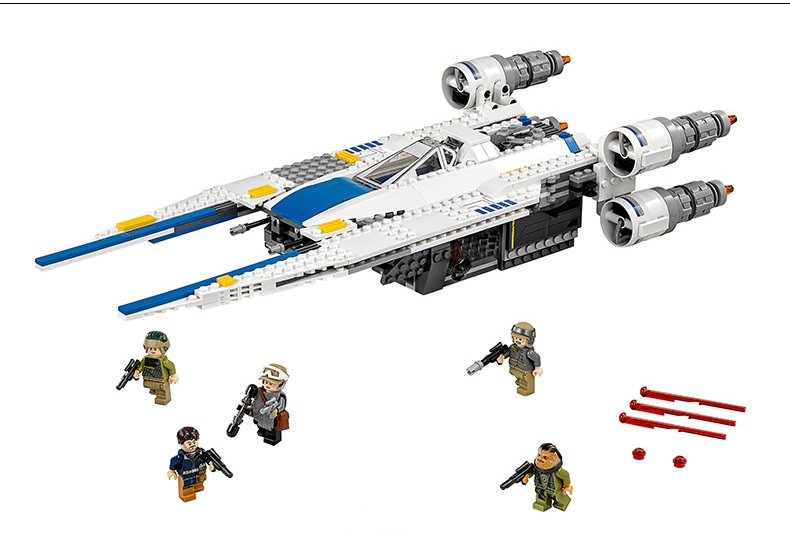 Image 4 - 05054 Star Wars The Rebel U Wing Fighter Jets Model 679pcs Building Blocks Bricks Toys Kids Gifts Compatible with 75155-in Blocks from Toys & Hobbies