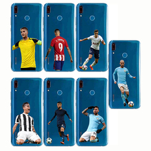 Cover Sports Soccer Football Pattern Print Design Soft Silicone Phone Cases for Huawei Y6 Y7 Prime Pro  Y5 Y9 Y3