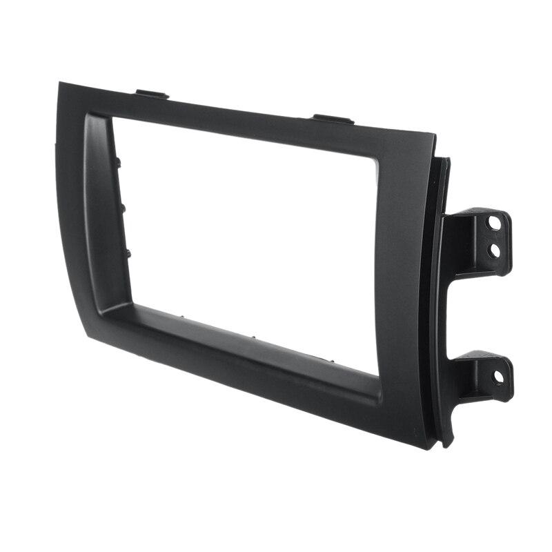 2Din Car Stereo Radio Panel Audio Trim Frame For Suzuki SX4 2007-2013 For Fiat Sedici 2005+