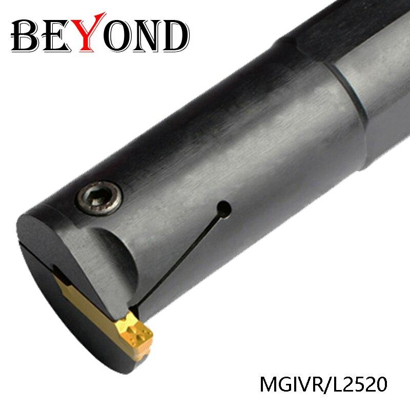 BEYOND MGIVR2520 MGIVR 2520 MGIVR2520-3 Internal Grooving Groove Slotting Turning Lathe Tool Holder CNC Boring Bar Cutter Tools