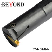 BEYOND MGIVR2520 MGIVR 2520 MGIVR2520-3 Internal Grooving Groove Slotting Turning Lathe Tool Holder CNC Boring Bar Cutter Tools new mgivr2016 3 16x160mm partting grooving cut off tool boring bar internal turning tool cnc tools for mgmn300 3mm width insert