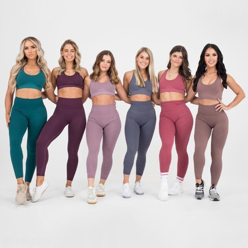 Yoga Sets Women's 2 Piece Set Leggings 1