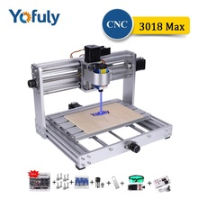 CNC 3018 Max Metal Engraving Machine With 200w Spindle DIY Mini 15W Laser Engraver CNC Wood Router, MDF Cutting, Milling Machine