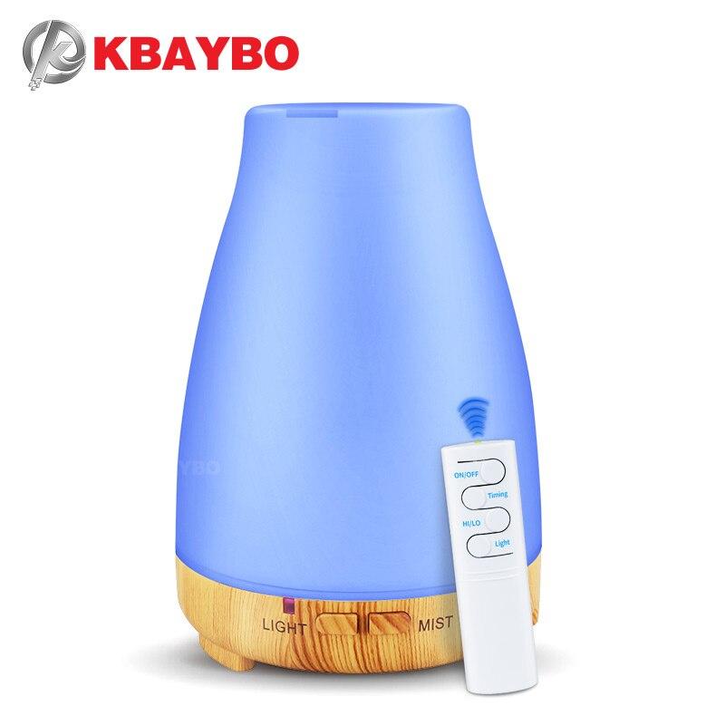 Difusor Teledirigido Del Aceite Esencial Del Humectador Del Aire Del Difusor Del Aroma De 200ml USB Con La Luz De 7 Colores LED