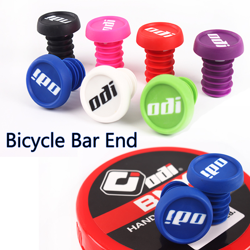 2X Road MTB Bike Bicycle Alloy Grip Handlebar End Plugs Stoppers Covers❤B