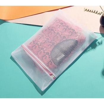1 * nylonowa torba na pranie zapinana na zamek torba na pranie siatka netto bielizna biustonosz skarpetki worki na pranie przechowywanie i organizacja prania tanie i dobre opinie CN (pochodzenie) Nowoczesne Poliester 30*40cm appox 40*50cm appx 50*60cm appox Dropshipping