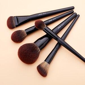 Image 3 - Jessup Pinceaux Maquillage Faceแปรงแต่งหน้าชุดสีดำคอนซีลเลอร์Crease Shader Liner 3 21Pcsเครื่องสำอางแปรงt271
