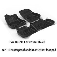 Buick lacrosse черный сверхмощный грузовой напольный коврик