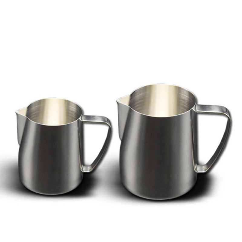 New 350 600ML Stainless Steel Coffee Cup Pull Flower With Pointed Mouth Coffee Stencils Portable Coffee Supplies 2019 in Coffee Cups Mugs from Home Garden