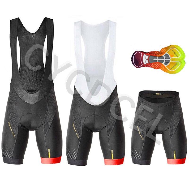 Pro Team Mavic 2020 Fietsen 16D GEL Pad Bib Shorts MTB Quick Dry Ademend Gewatteerde Sport Bike Wear Fiets Lycra ropa Ciclismo
