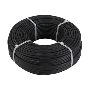Image 2 - 100meters/roll 1x6sq mm PV Cable Black&Red color Optional Copper Conductor 10AWG Solar Cable for MC3 Connector