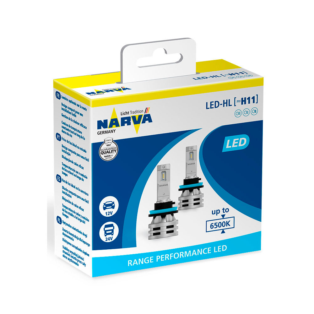 Narva Range Performance LED H11 6500K (2 шт.) 18048