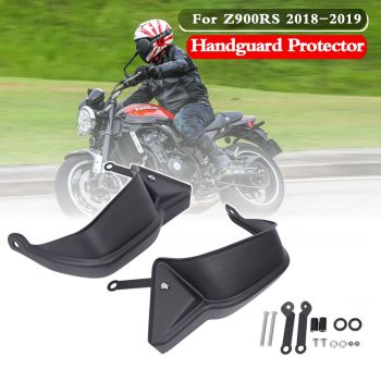 Z900RS Handle Bar Hand Guard Handguards Brake Clutch Protector for Kawasaki Z900RS Z900 RS 2018 2019 Motorcycle Accessories motorcycle brake handle cnc aliuminum motorcycle adjustable clutch brake lever handle for kawasaki z900rs 2018 z900rs z900 rs