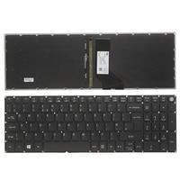 Novo teclado do portátil do reino unido para acer aspire v15 t5000 n15q1 n15w7 n15w6 n15q12 n15q1 n15w1 n15w2 uk teclado preto retroiluminado
