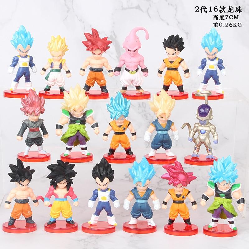 Dragon Ball Z Son Goku Vegeta Gotenks Trunks Freezer Collectible Action Figures