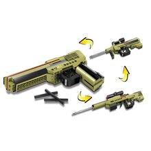 3 в 1 Детский конструктор пистолет 202 деталей