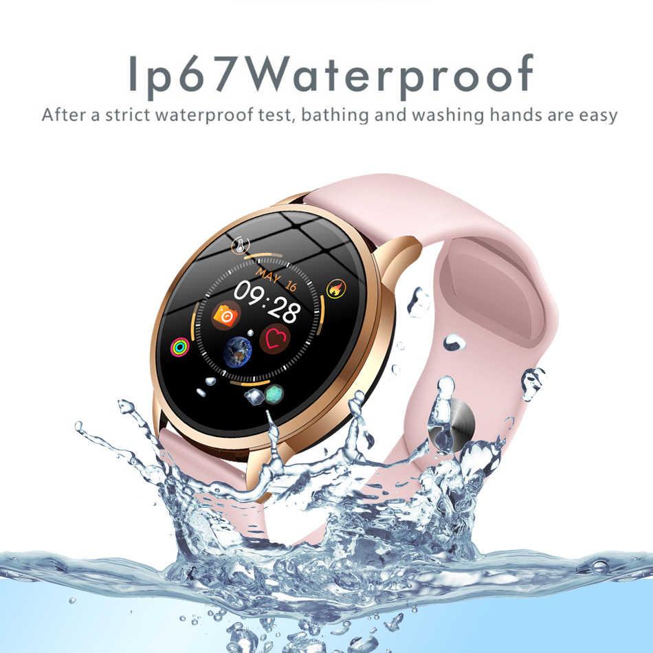 LIGE 2019 Vendita Calda Orologi Smart Frequenza Cardiaca Monitor di Pressione Sanguigna Intelligente Vigilanza di Sport Delle Donne Della Vigilanza Smartwatch per IOS Android + box