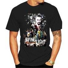 Camiseta ttamanho 2021 solto tamanho luz morrendo design branco tjogo dos homens s-3xl