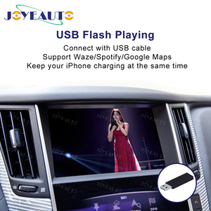 Image 2 - Joyeauto ไร้สาย Apple CarPlay สำหรับ Infiniti 8 นิ้ว 2015 2019 Q50 Q60 Q50L QX50 Android Auto Car Play วิดีโอ อินเทอร์เฟซ