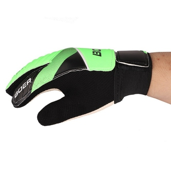 New Football Gloves Adult Outdoor Sports Football Soccer Football Gloves Anti-Slip Football Gloves Size 8 9 10 Green Blue фото