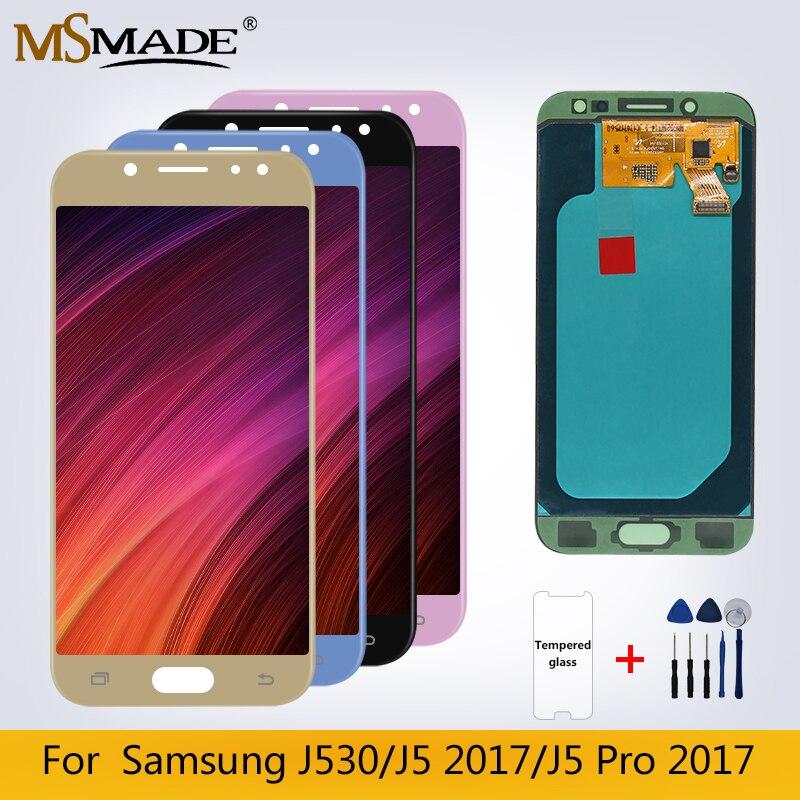 J530 Original LCD pour Samsung Galaxy J5 2017 J5 Pro J530 J530F LCD affichage écran tactile numériseur pièces d'assemblage livraison gratuite
