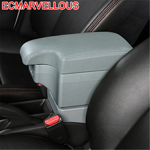 Car-styling Car Arm Rest Accessory Automovil Decoration Automobiles protector Armrest Box 14 15 16 FOR Citroen Elysee