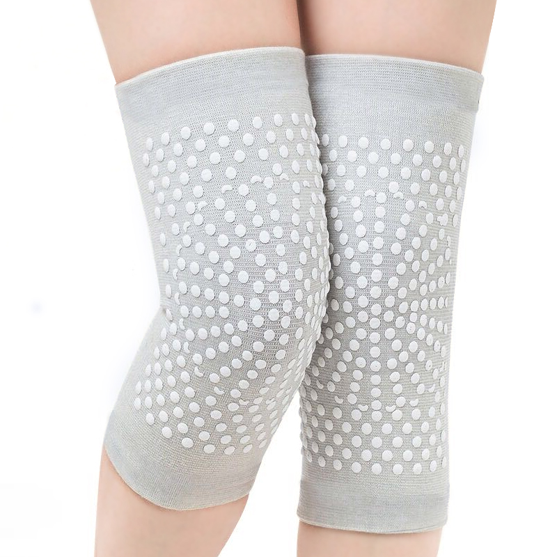 (2 Pcs) Tourmaline Self Heating Support Knee Pads Knee Brace Warm For Arthritis Joint Pain Relief And Injury Recovery